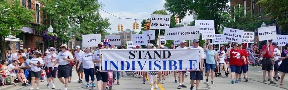 Indivisible Huron Valley July 4 2019.10.