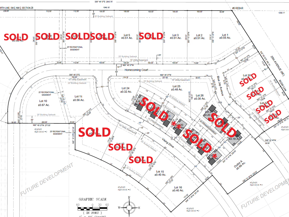 Updated Lots Available