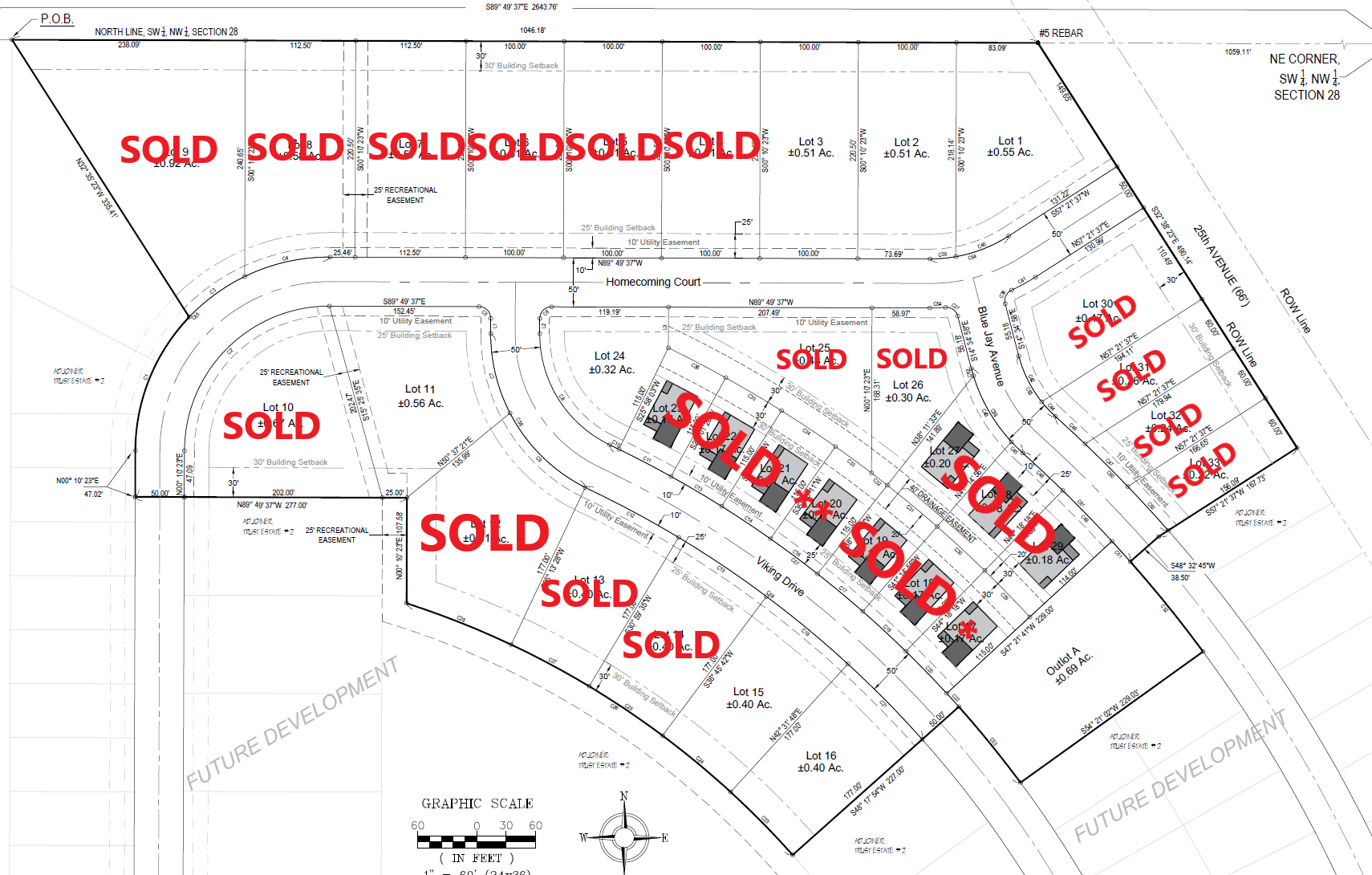 Phase 1 Lot Sales
