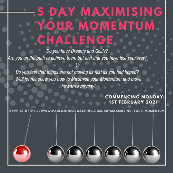 logo - 5 day maximising your momentum ch