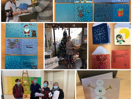 Bemoedigende kerstwensen voor zorginstellingen in Sint-Truiden