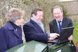 Ed Vaizey with BT