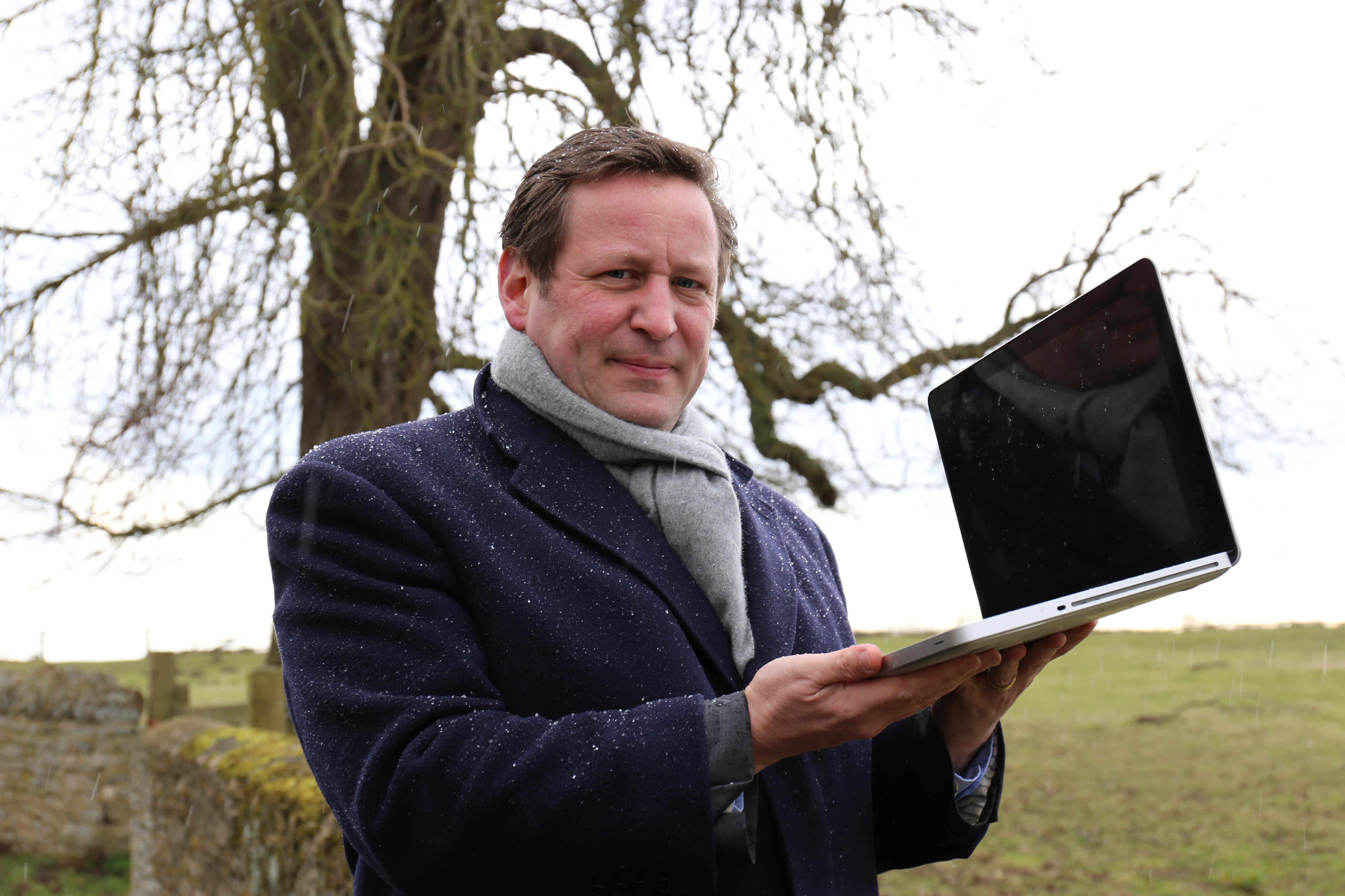 Ed Vaizey and BT at Village of Pusey