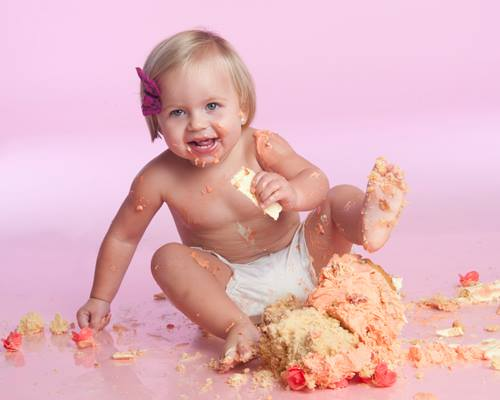 cake smash photgraphy