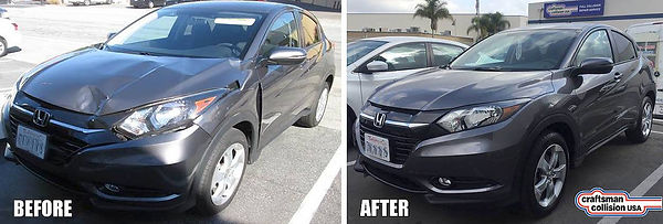 honda certified collision repair before after