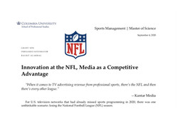 Case: Innovation at the NFL