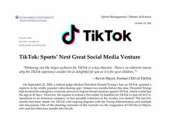 Case: TikTok