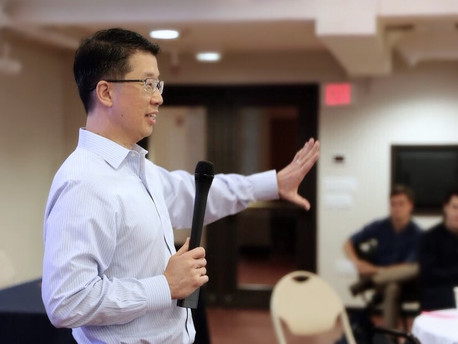 Grant Son Guest Speaker at Venture for America's Summer Bootcamp at Brown University