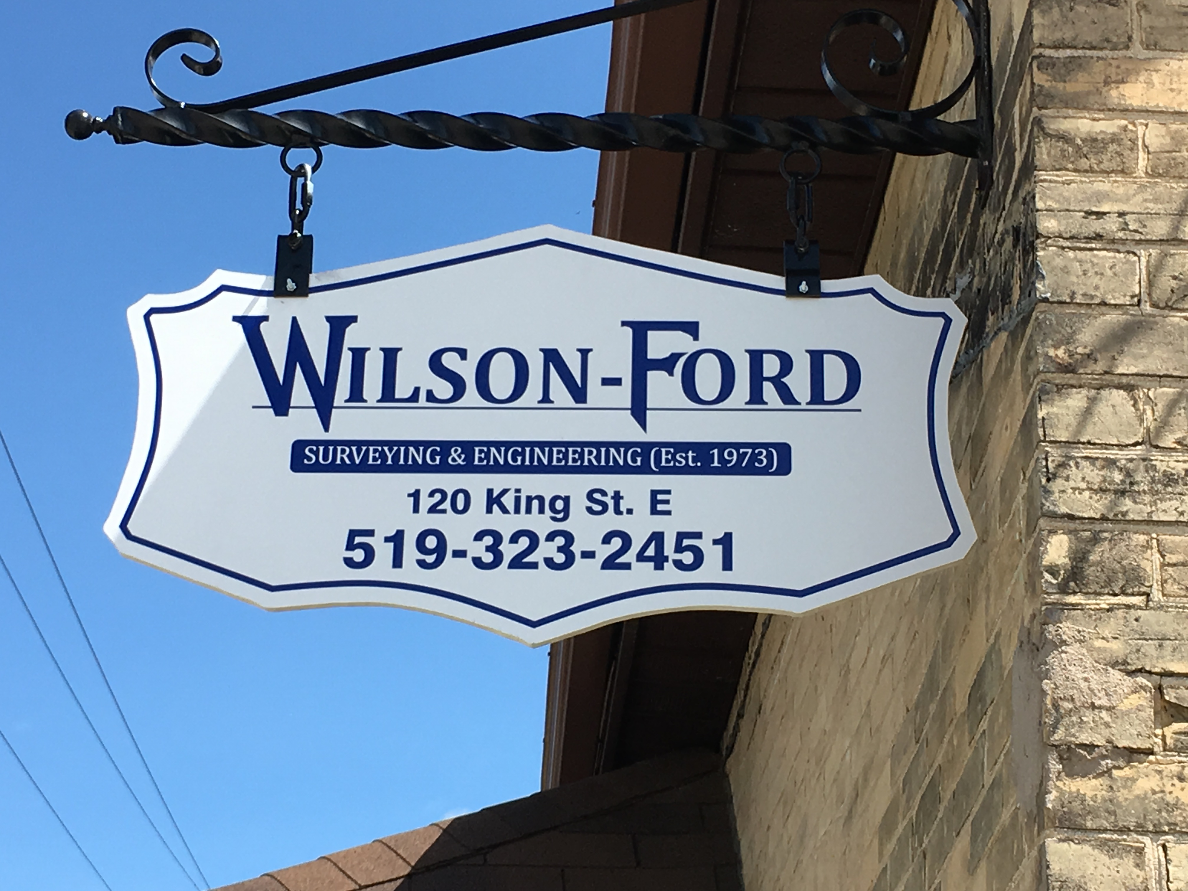 wilson ford business sign