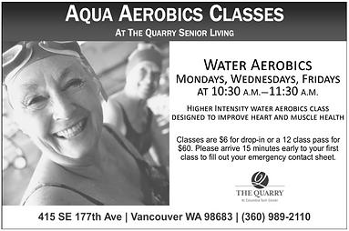 The Quarry Aqua Aerobics Ad.png