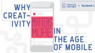 Kreativitet betyder mere i den mobile tidsalder (Infographic)