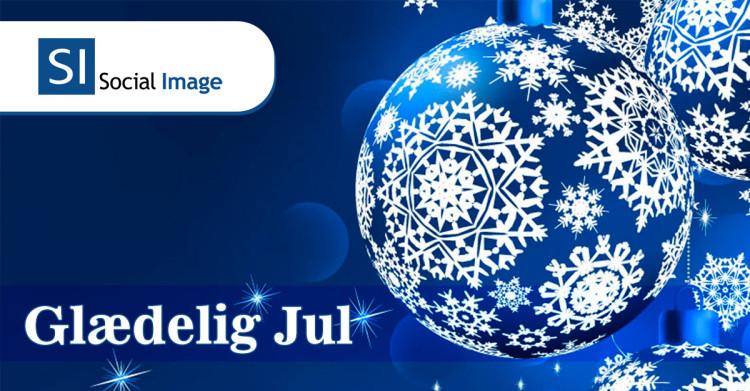 Glædelig jul og godt nytår - Social Image - Facebook annoncering