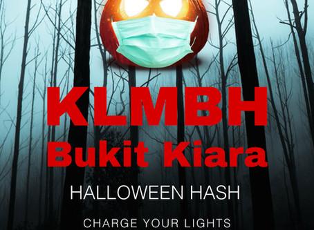 KLMBH HASH #302 @ BUKIT KIARA, SATURDAY 31ST OCTOBER 2020 (PM)