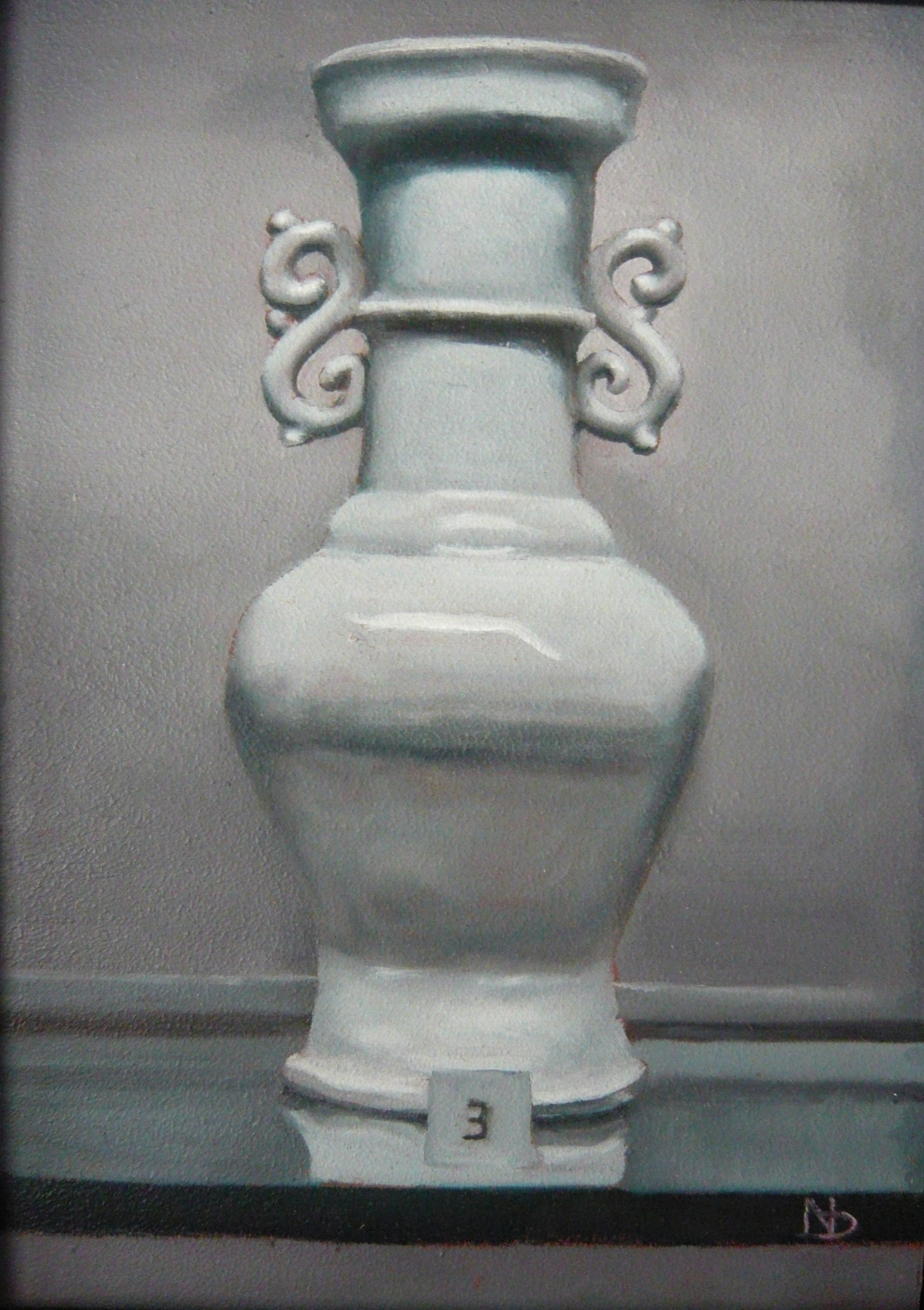 Vase in a Museum