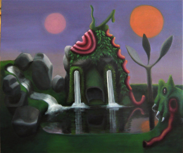 Model for a Whispering Landscape