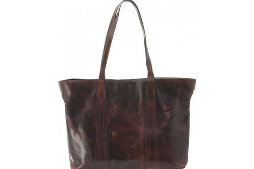 CAMELEON GAIA CONCEAL CARRY PURSE OPEN TOTE BROWN LEATHER