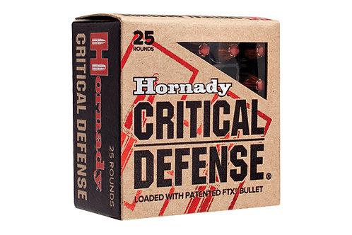 HORNADY 9MM CRITICAL DEFENSE 115GR FTX