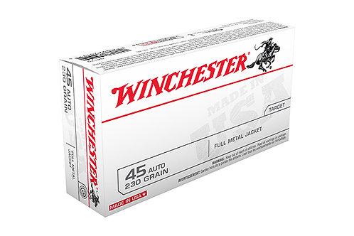 WINCHESTER CARTRIDGE 45AP 230GR FMJ