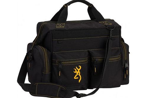 "BROWNING RANGE BAG W/CARRY STRAP 18""W X 12.5""H X 11""D BLACK"
