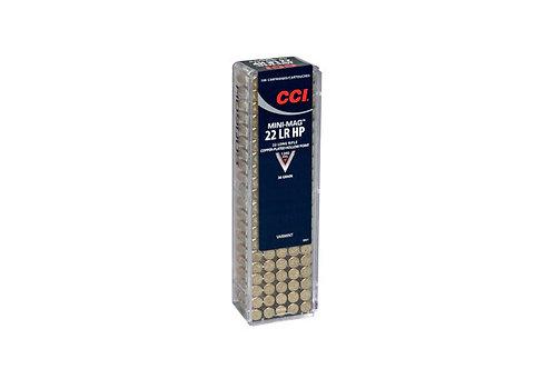CCI CARTRIDGE 22LR MINI-MAG 36GR HP