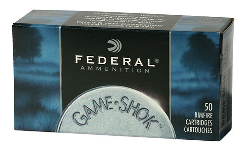FEDERAL CARTRIDGE 22LR GAME SHOK 40G CPSOLID