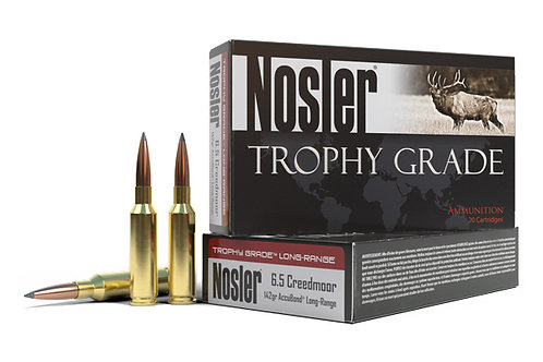 NOSLER TROPHY GRADE 6.5CR 142GR ACCUBOND LONG RANGE