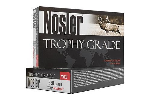 NOSLER TROPHY GRADE  338 LAPUA 225GR ACCUBOND