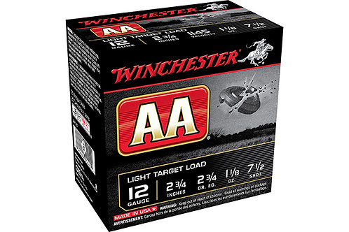 WINCHESTER AA LT 12G 2.75DR 1.125-7.5