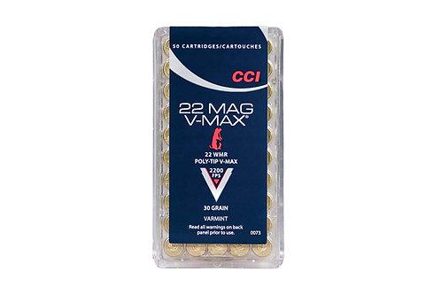CCI CARTRIDGE 22M 30GR V-MAX