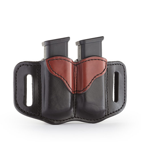 1791 Gun leather MAG 2.2 – DOUBLE MAGAZINE HOLSTER FOR DOUBLE STACK MAGS