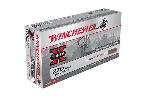 WINCHESTER SUPER X 270WSM 150GR POWER POINT