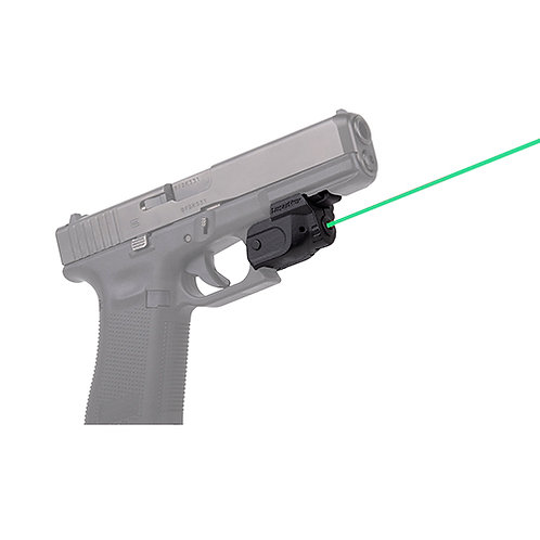 LaserMax Lightning Rail Mounted Laser with GripSense Activation, Green Laser