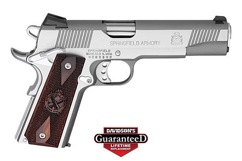 Springfield Armory Model:1911 Loaded CA Approved