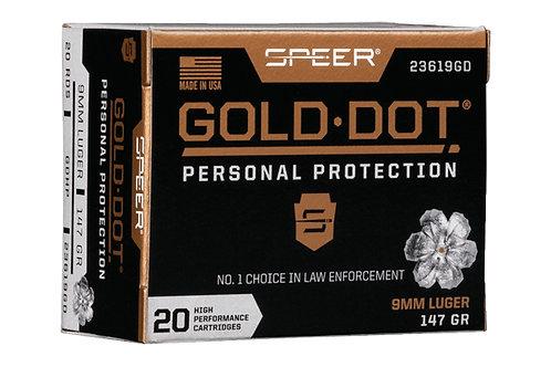 SPEER GOLD DOT 9MM 147GR GDHP