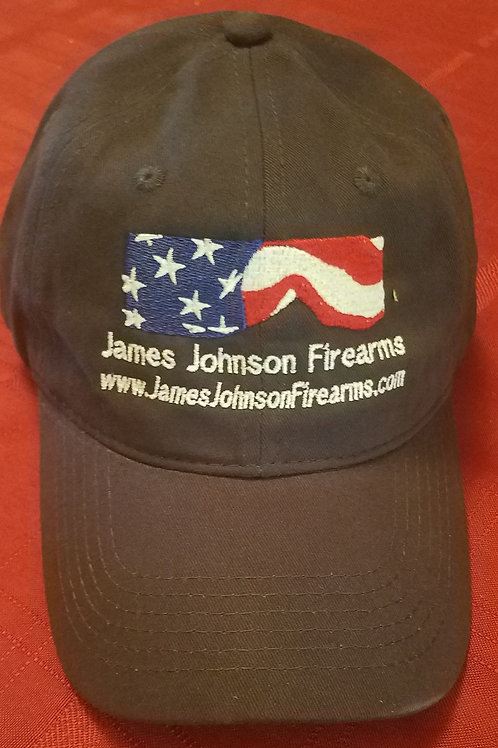 Navy Blue Unstructured Twill EMBROIDERED Shooter's Cap