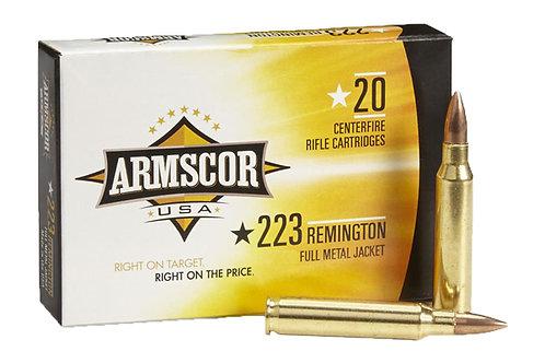 ARMSCOR CARTRIDGE 223 62GR FMJ