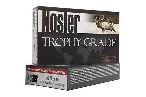 NOSLER TROPHY GRADE 26NOS 142GR ACCUBONDLR