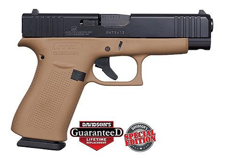 Apollo Custom|Glock  Model:48 DDE Elite Black