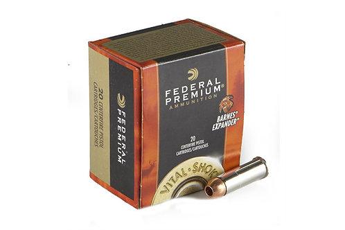 FEDERAL PREMIUM 500SW 275GR BARNS EXP