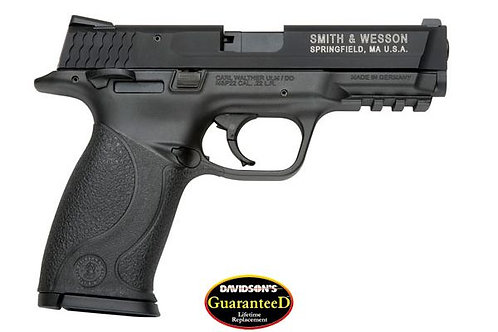 SMITH & WESSON M&P22 22LR 12RD B AS AMBI