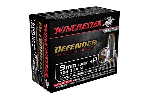 WINCHESTER PDX1 DEFENDER 9MM 124GR  BONDED