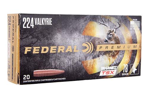 FEDERAL 224 VALKYRIE 78GR BARNES TSX