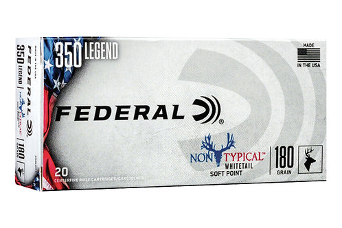 FEDERAL NON-TYPICAL WHITETAIL 350 LGND 180GR SP