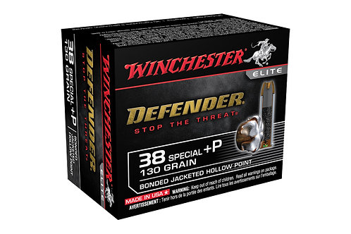 WINCHESTER PDX1 38+P 130GR BONDED
