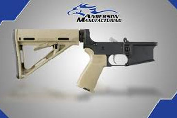 AM-15 COMPLETE LOWER, FDE MAGPUL – OPEN