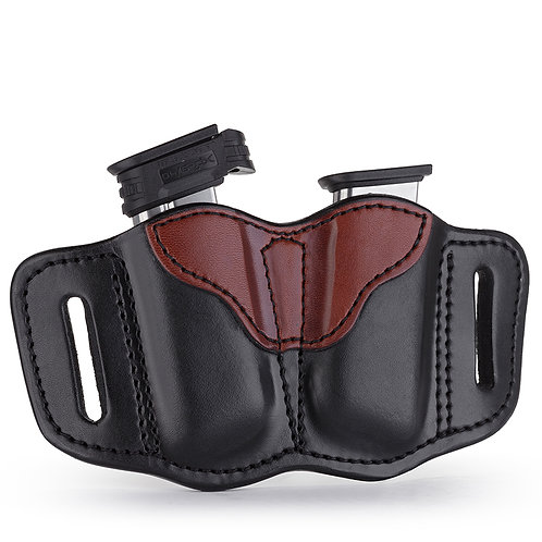 1791 Gun leather MAG 2.1 – DOUBLE MAGAZINE HOLSTER FOR SINGLE STACK MAGS