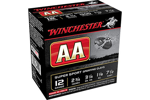 WINCHESTER AA SC 12G 3.25DR 1.25-7.5