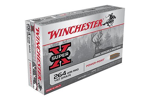 WINCHESTER CARTRIDGE 264 140GR POWER POINT