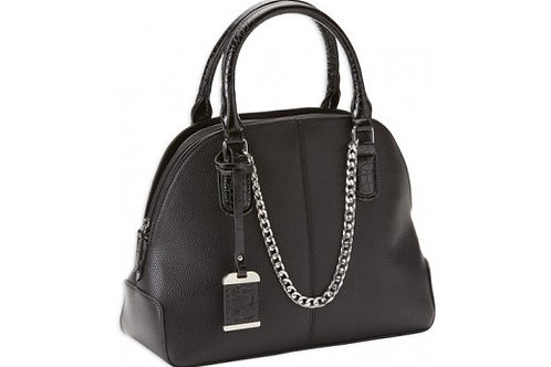 BULLDOG CONCEALED CARRY PURSE W/ HOLSTER SATCHEL STYLE BLACK