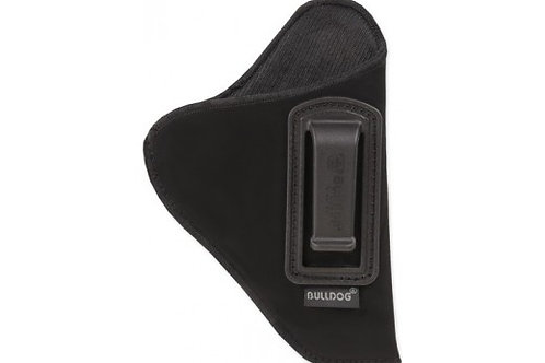 "BULLDOG INSIDE PANTS HOLSTER REVOLVERS 3-4"" BARREL RH BLK"